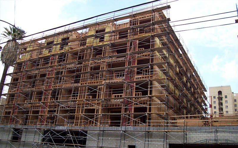 Rolls Scaffold Scaffolding Picture 1